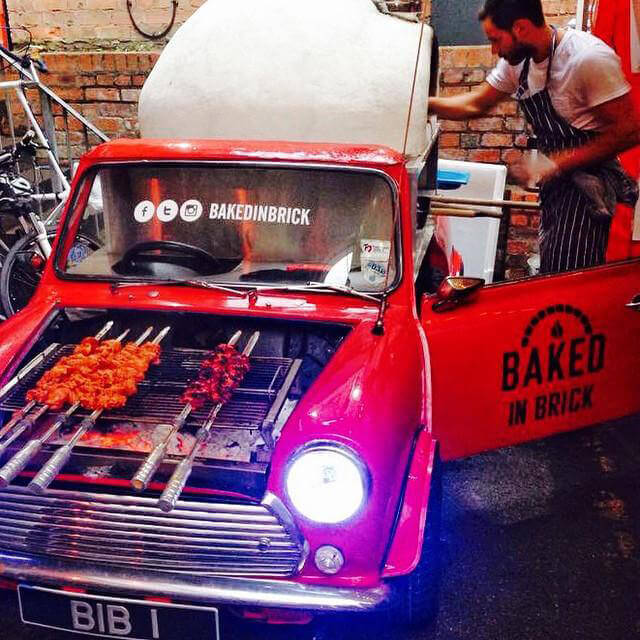 An under-bonnet grill and internal wood-fire oven have transformed the mini