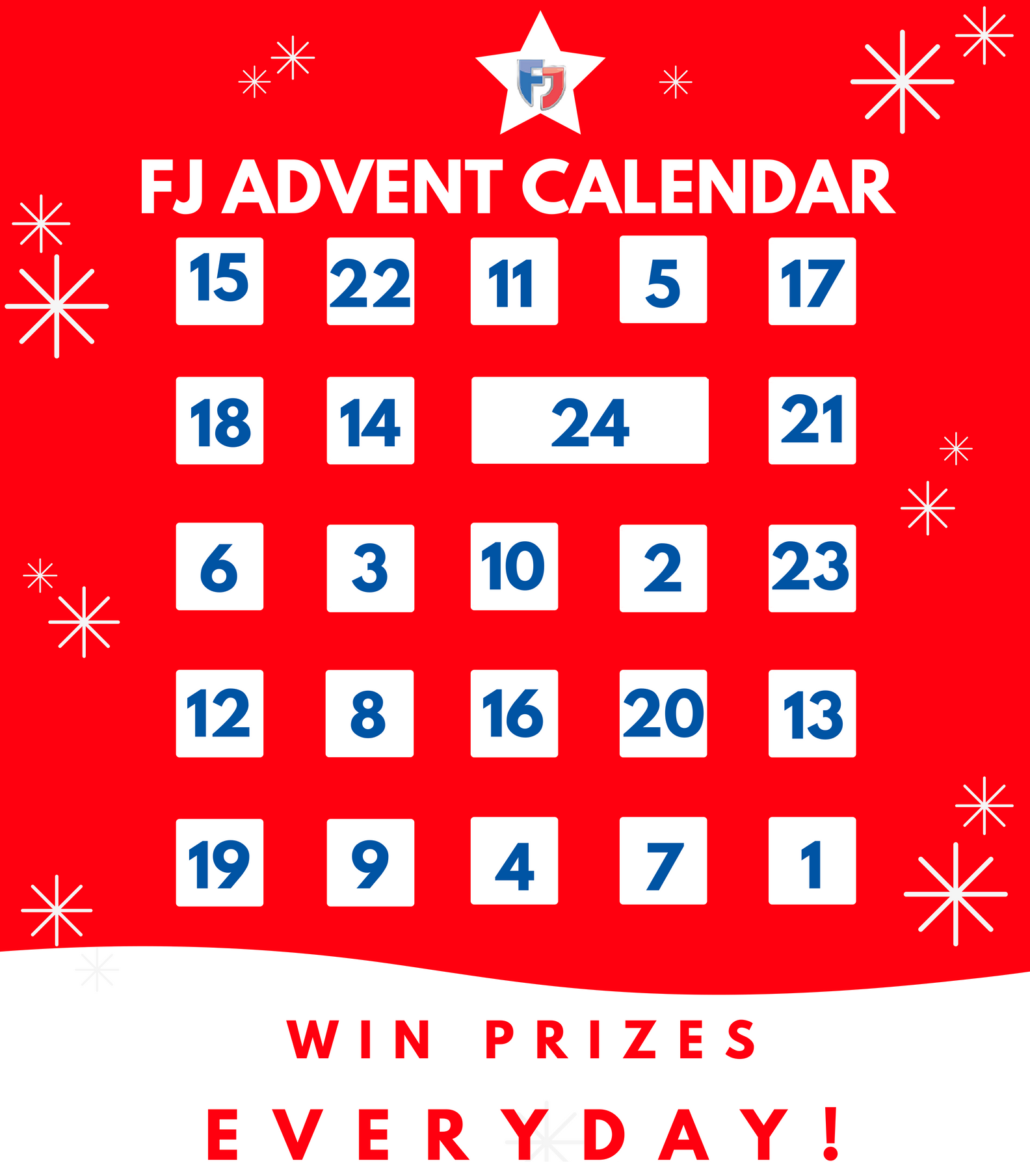 FJ Advent Calendar