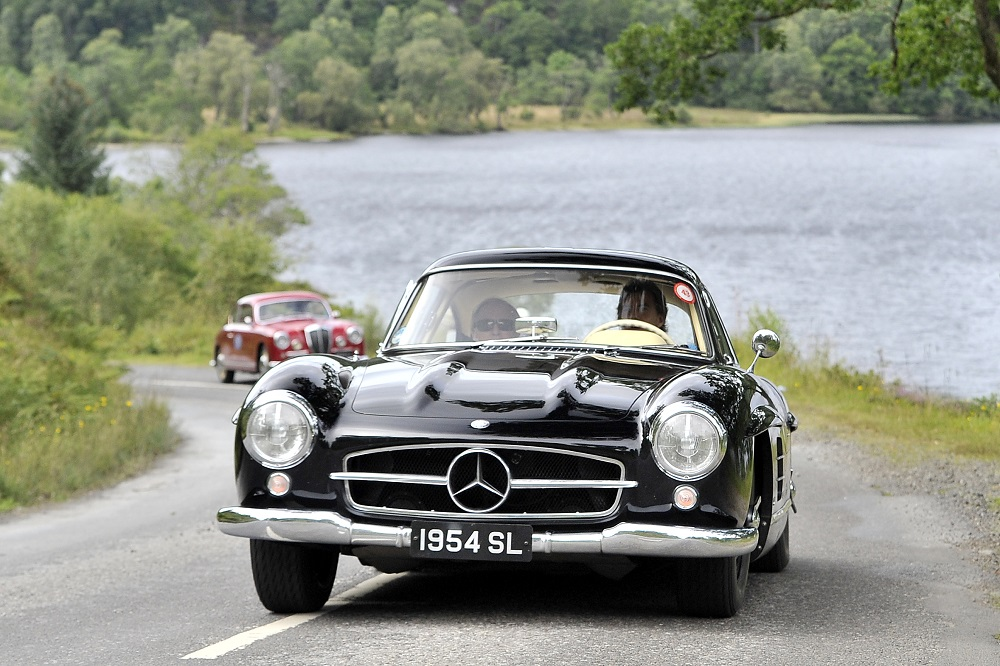 1950s Mercedes 300SL Gullwing