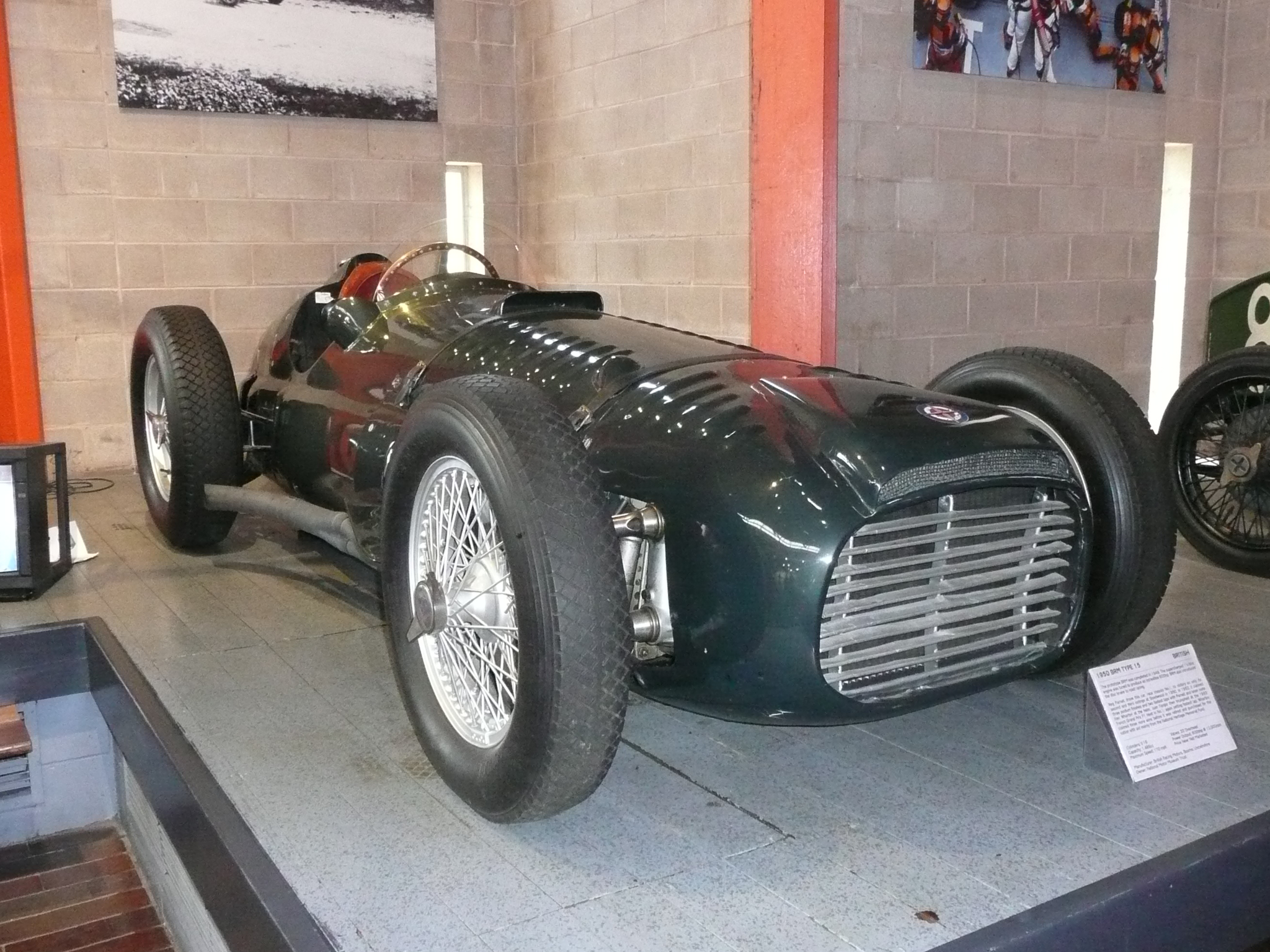 The 54-year-old BRM V16 has been earmarked for a facelift