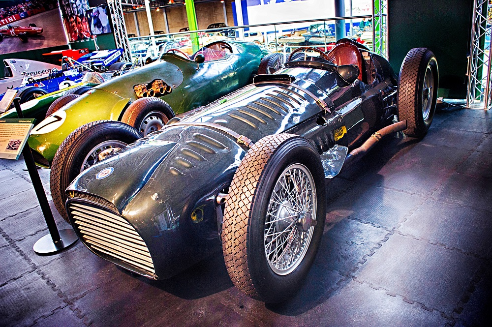 BRM in A Chequered History at Beaulieu