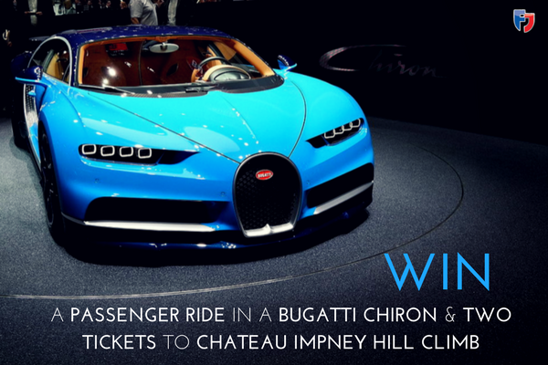 Win a demonstration ride at Chateau Impney Hill Climb 2017