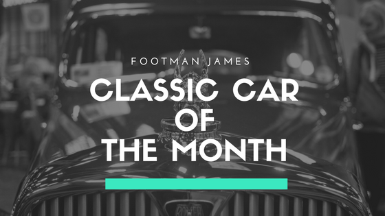 Classic car of the month banner image
