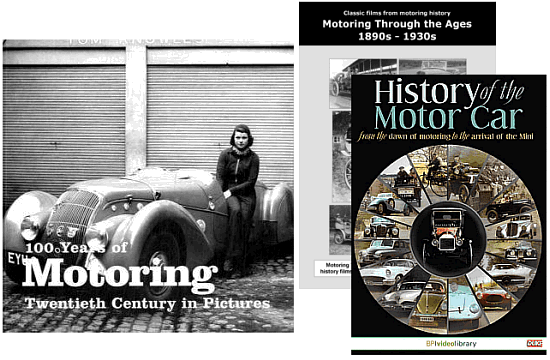 100 Years of Motoring History DVD