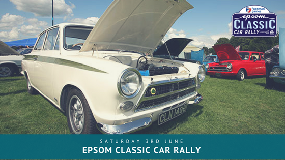 Epsom classic car rally