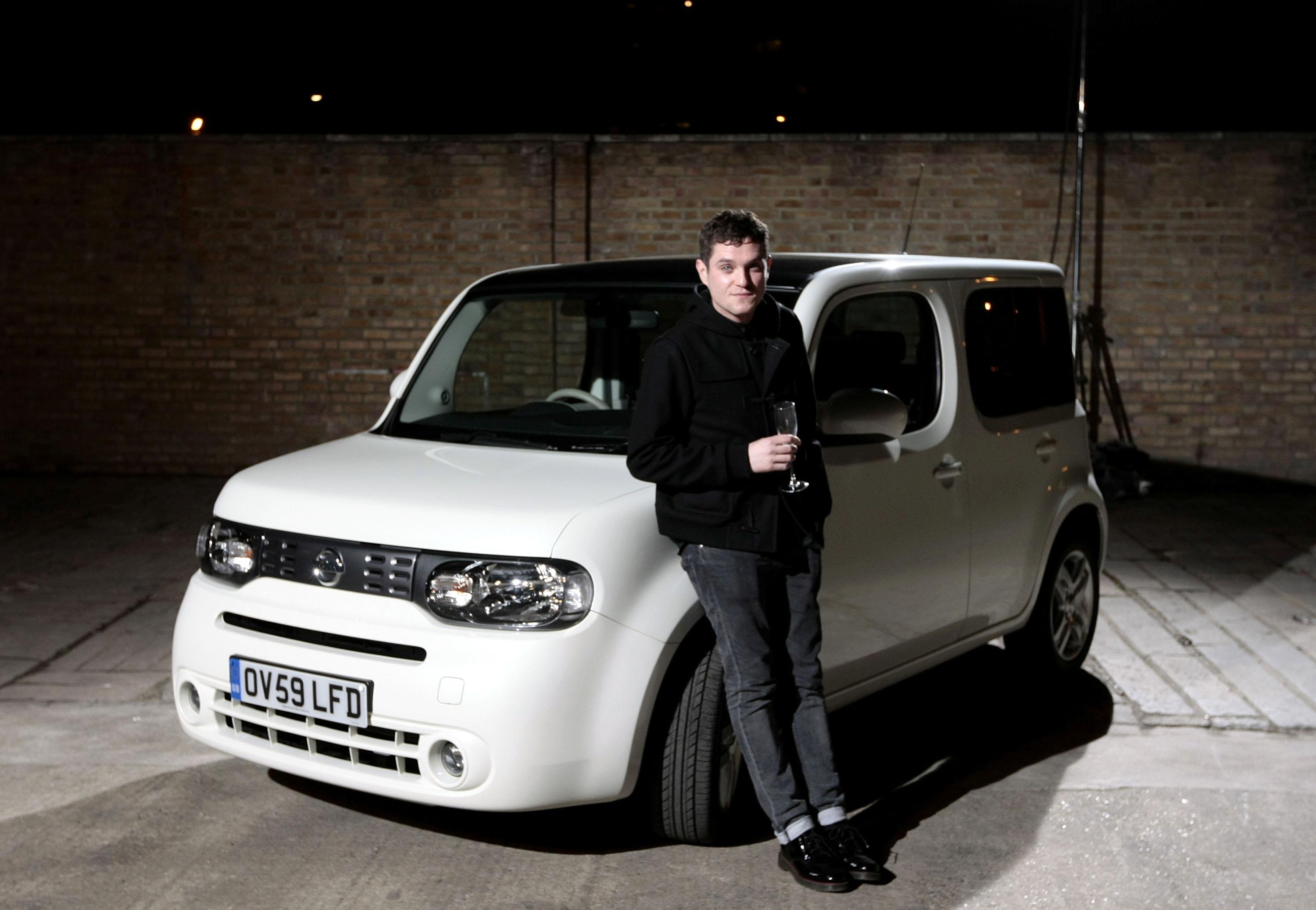 Actor Matt Horne attended the launch of the Nissan Cube in 2009