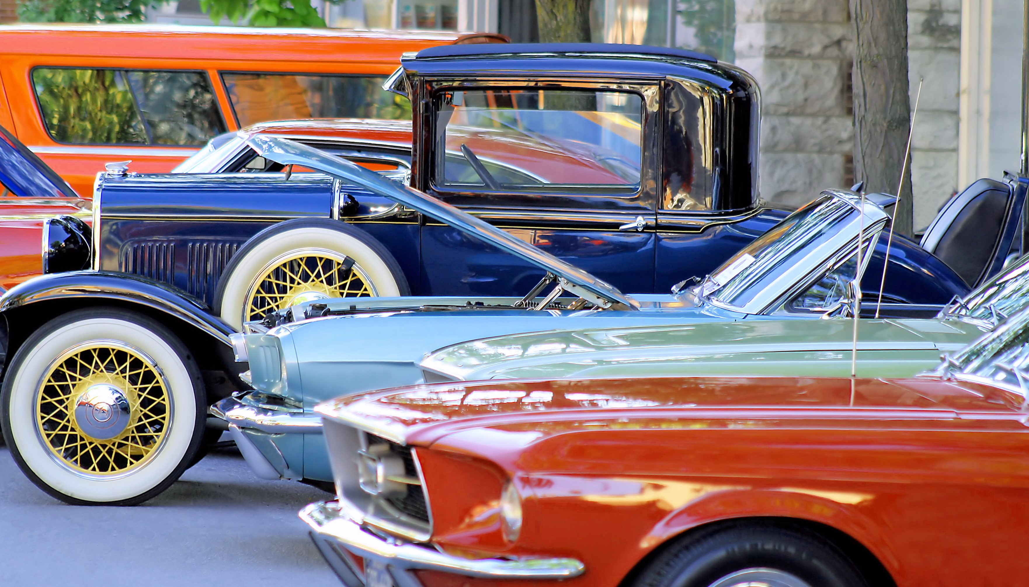 The Government announced MOT exemption for classic cars in September