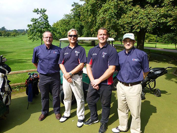 Footman James employees attending the H&H Golf Day