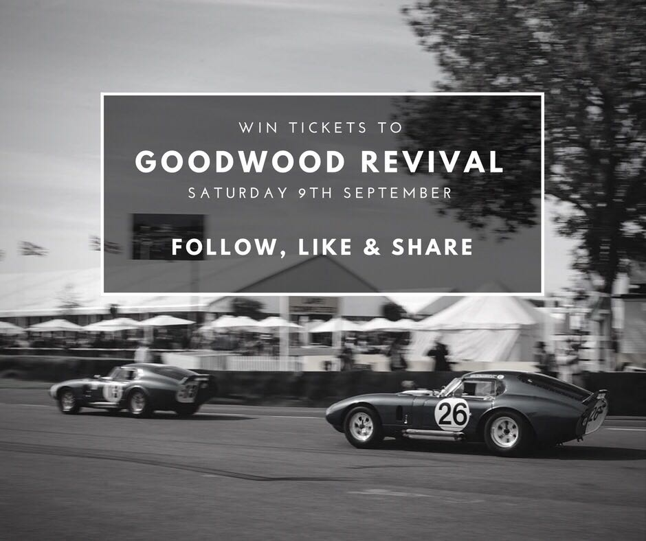 Win a pair of tickets to Goodwood Revival