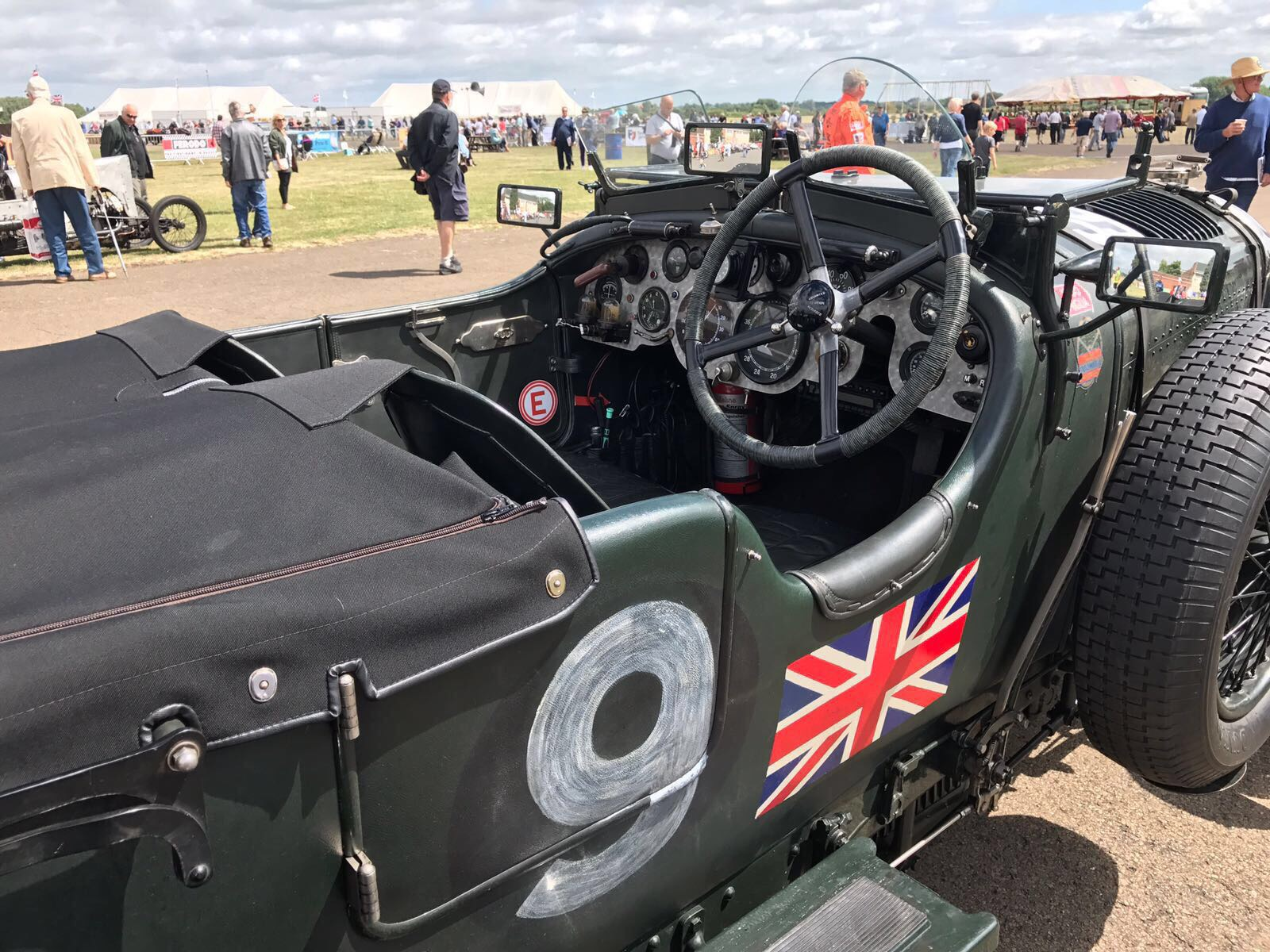FJ Cup winner 1929 Bentley Birkin Blower