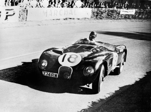 Jaguar C-Type 1953 Le Mans race