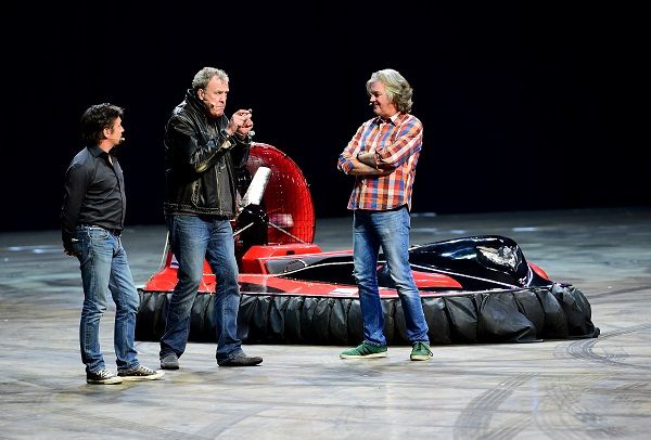 Clarkson, May and Hammond met on the set of BBC2 Top Gear