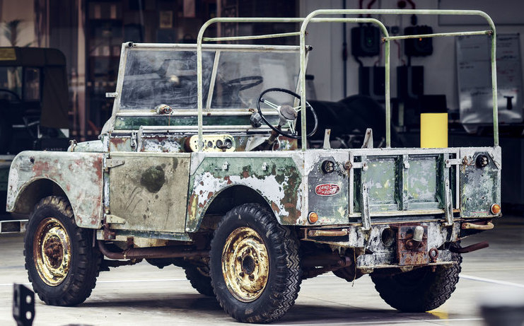 Landrover missing for 63 years
