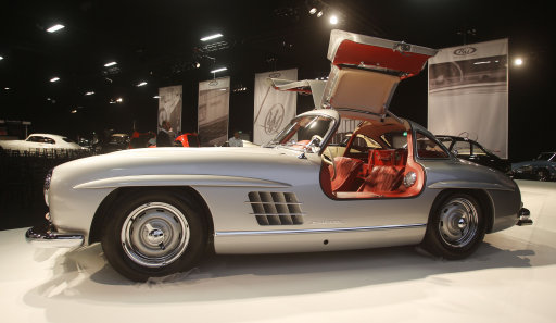 Mercedes Benz 300SL Alloy Gullwing - Retromobile