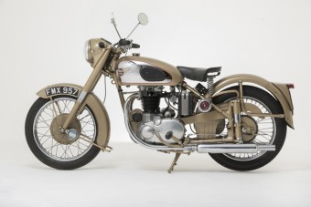 1953 BSA A10 Golden Flash
