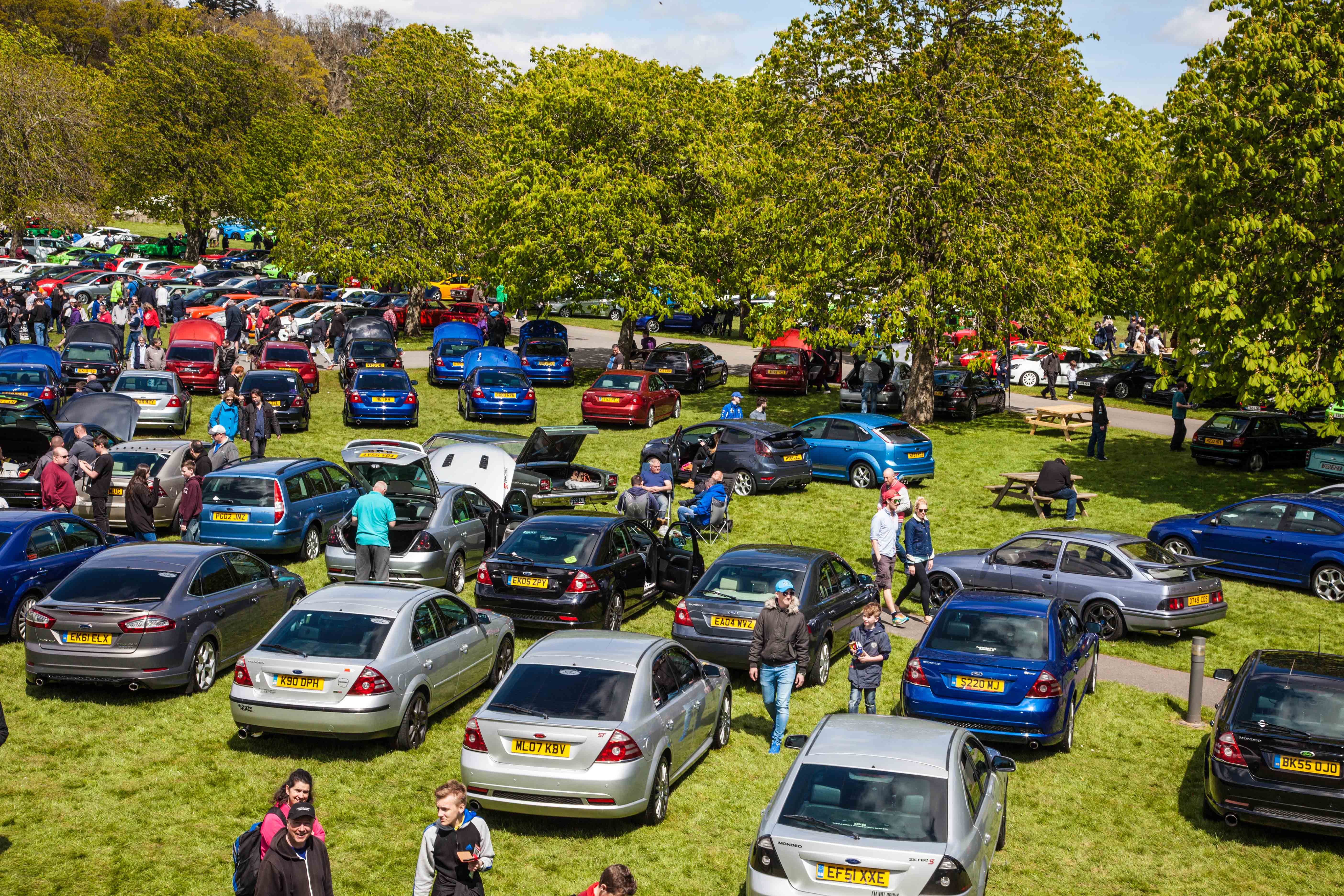 Over 1,300 Fords at Simply Ford Beaulieu