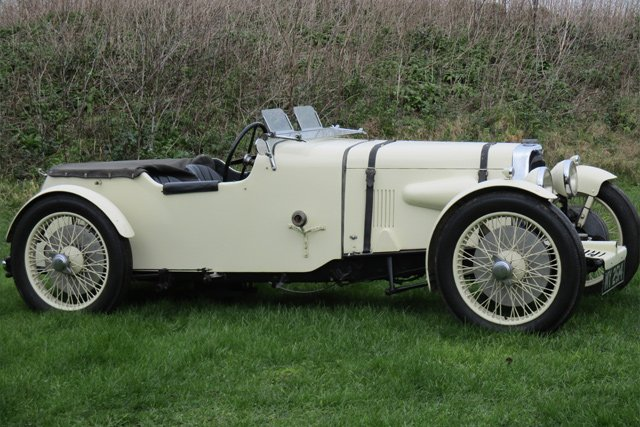 1929 Aston Martin International Three-Seater