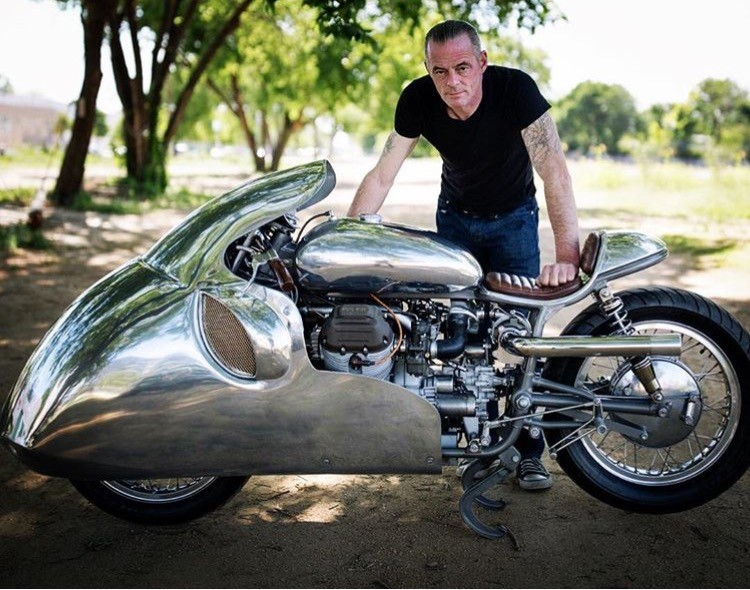 Craig Rodsmith and his Silver Bullet creation