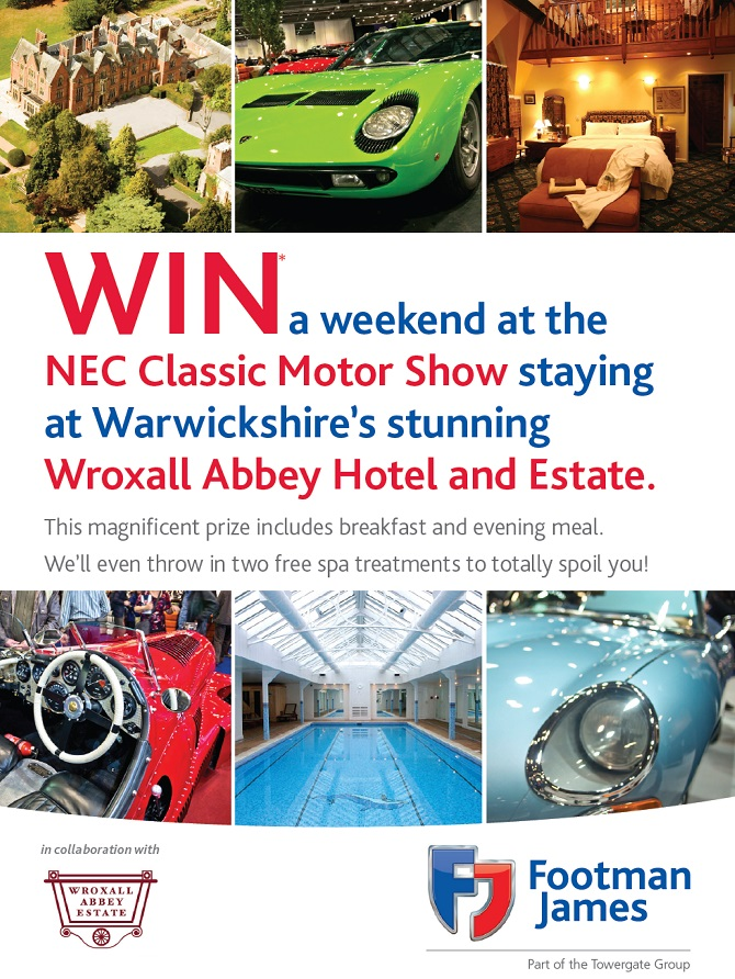 Win Your Perfect Classic Weekend - Get a Classic Quote Today