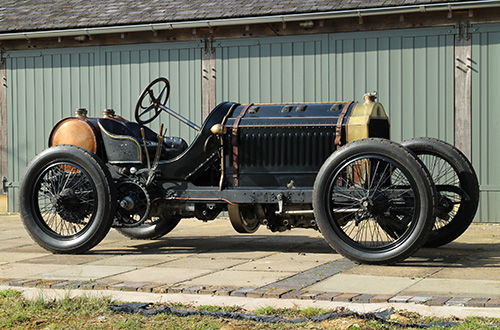 Restored De Dietrich Ready For Chateau Impney Challenge