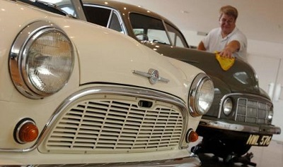 Morris Minors continue to be held in great affection by the British public
