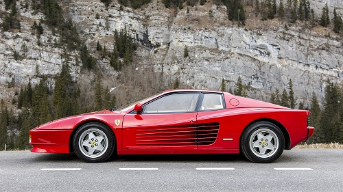 This Ferrari Testarossa could fetch £90,000