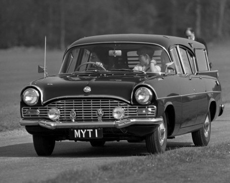 This Vauxhall Cresta was driven by Queen Elizabeth II alongside Prince Andrew in 1968