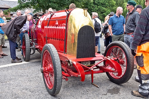 Chateau Impney Hill Climb concours sponsorship