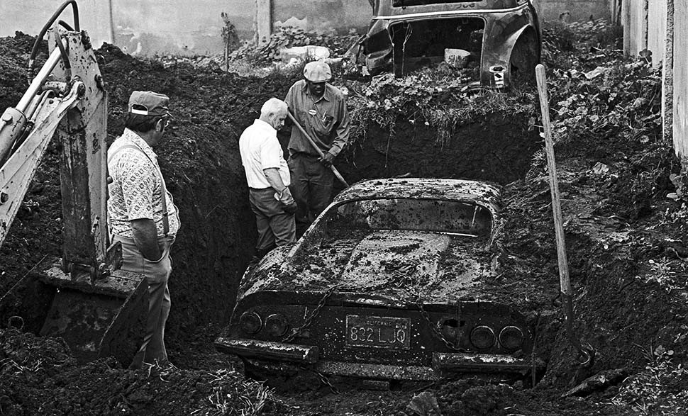 Digging up Ferrari Dino