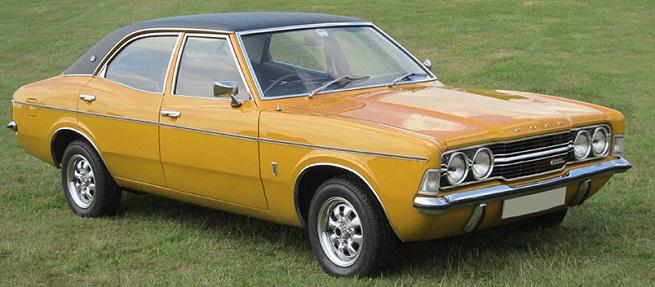 Orange Ford Cortina Mk3 & Classic Car of the Month - Ford Cortina | Footman James markmcfarlin.com