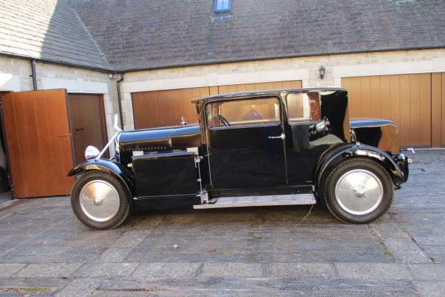 1930 Voisin C14 Top Hat Coupe