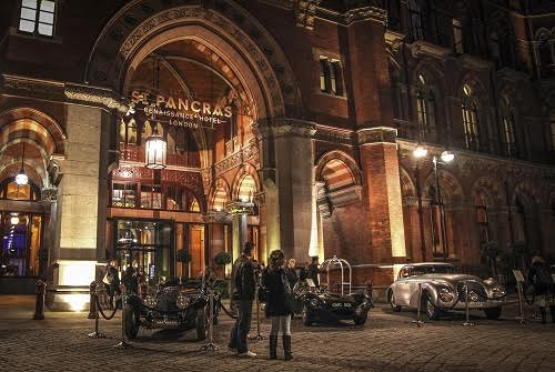 The St Pancras Renaissance Hotel: a classic setting for a classic car awards event