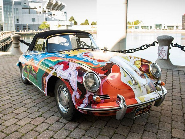 Joplin's Porsche 356C is expected to fetch more than £260,000 at auction in December