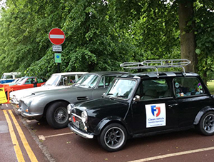 Miini Penny parked up and ready to take part in the London to Brighton Run!