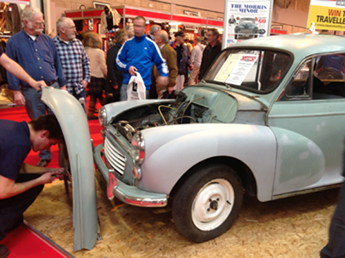 Morris Minor Traveller Restoration