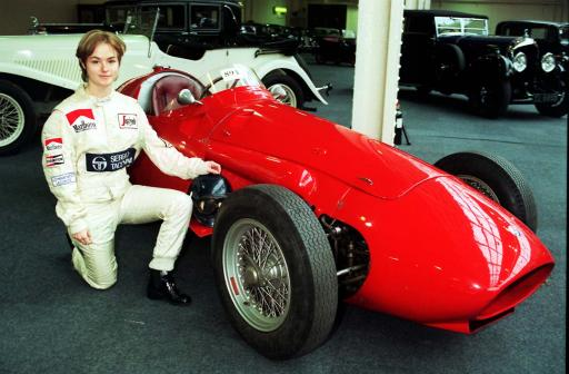A Maserati 250F was one of this year's stars