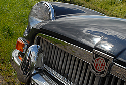 MGB GT Front grill