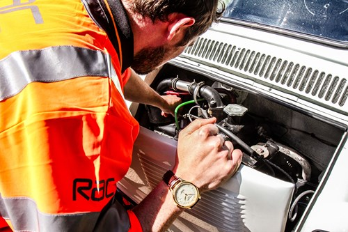 RAC dealing with a breakdown
