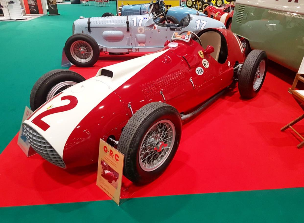 Old Racing Car Company 1951 Ferrari Monoposto Chassis 102