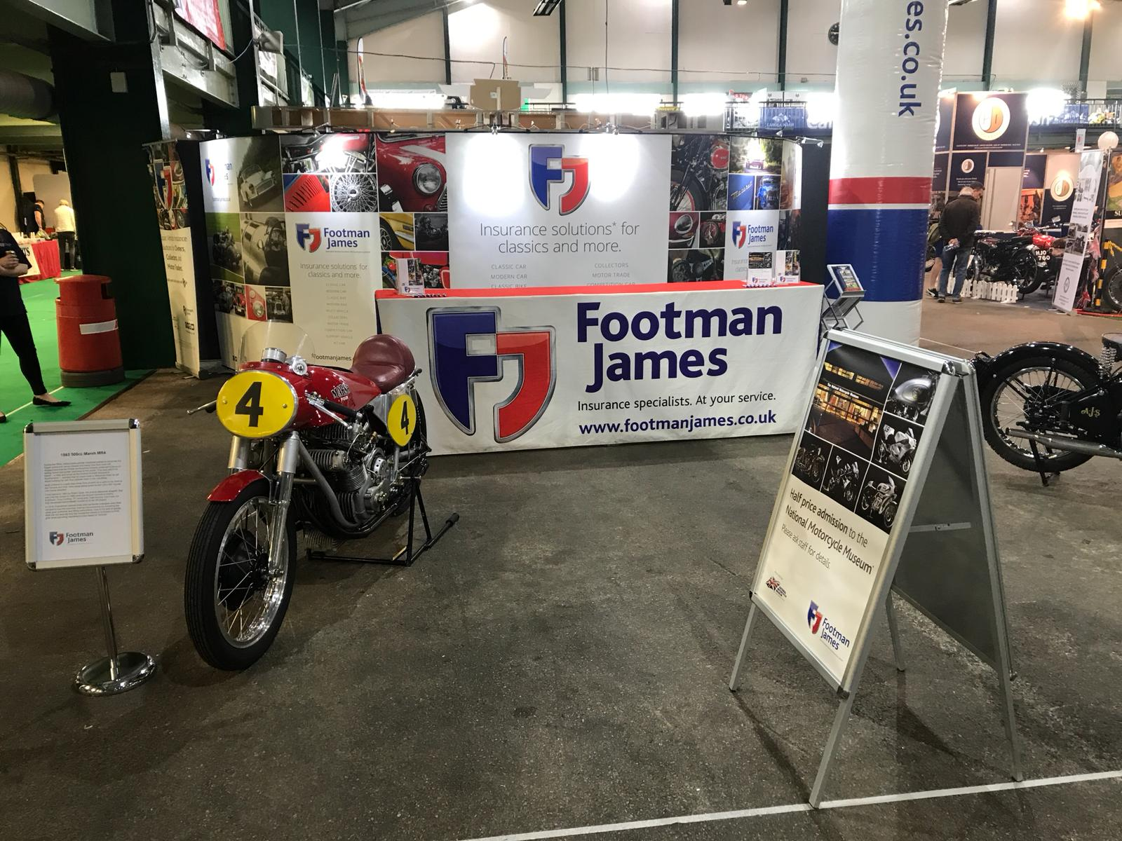 The FJ stand