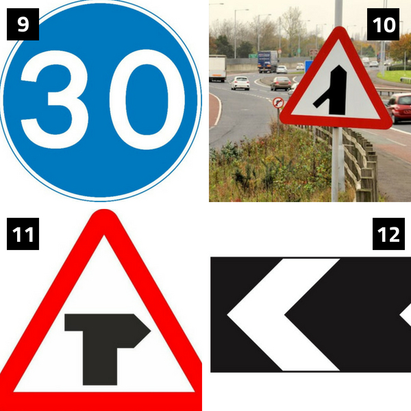 More highway code signs