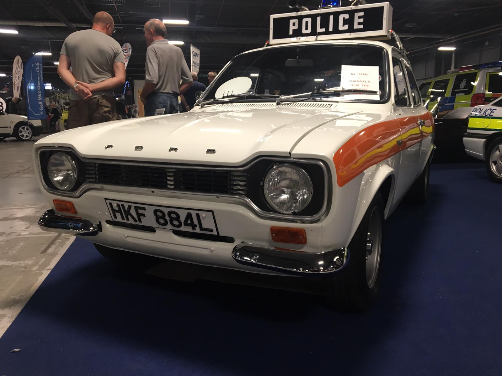 A Police Ford Escort Mexico