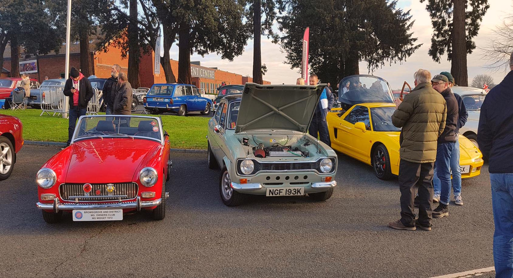 Classic MG Midget and 1972 Ford Escort.jpg