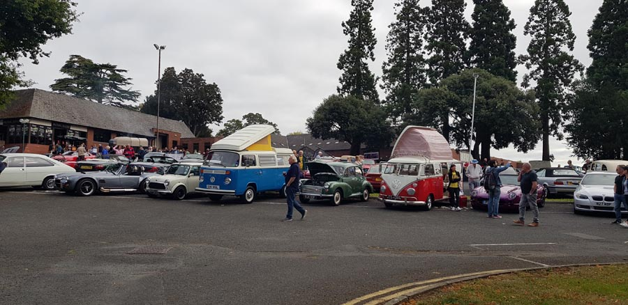 Campervan line-up