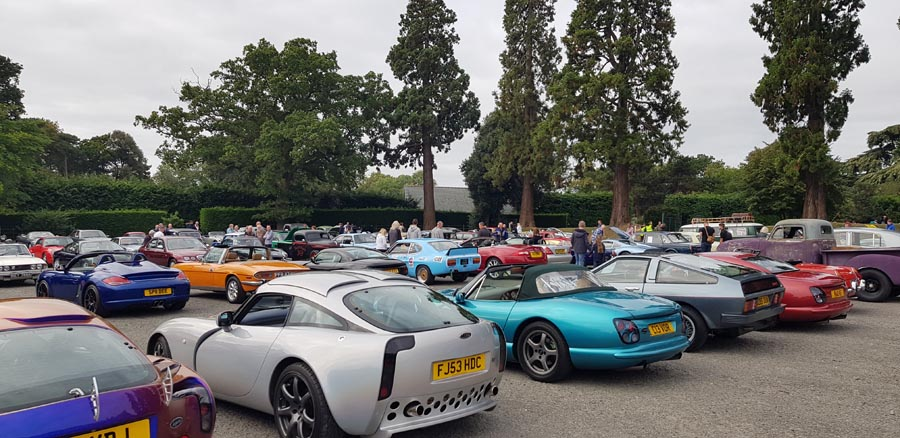 Classic line-up featuring TVRs