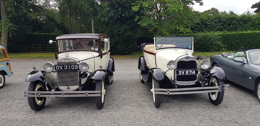 Ford and a Riley