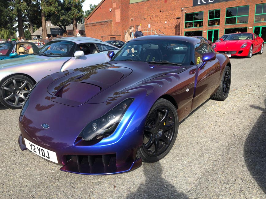 TVR Sagaris second angle