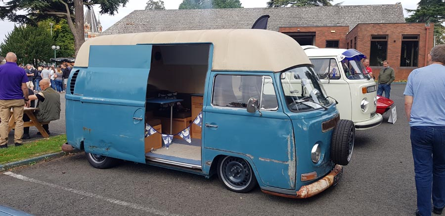 Volkswagen High Roof Panel Van side view