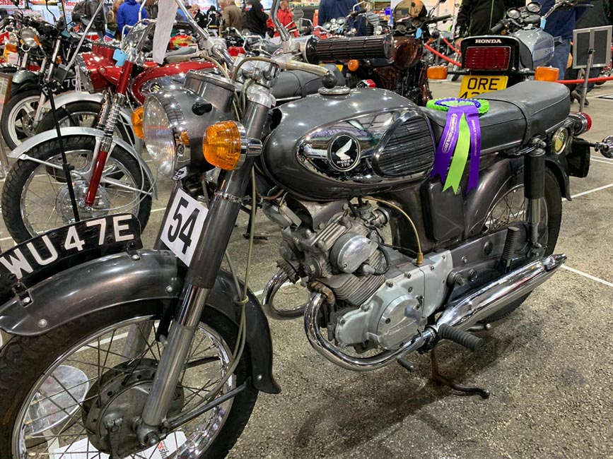 1967 Honda CD175 - Highly Commended