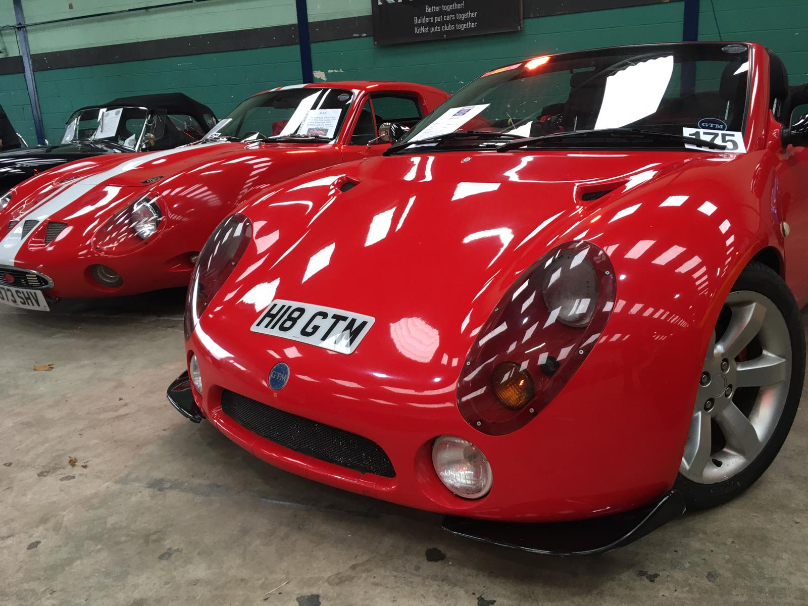 Red GTM cars